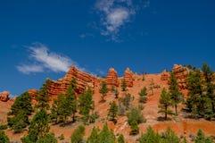 Parque nacional Utah del barranco de Bryce Imágenes de archivo libres de regalías