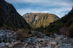 Parque Nacional van Queulat, Zuidelijke Carretera, Weg 7, Chili Royalty-vrije Stock Foto