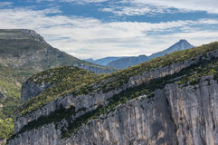 Parque nacional Verdon Fotografia de Stock Royalty Free