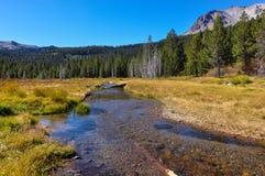 Parque nacional vulcânico de Lassen, Califórnia, EUA Imagens de Stock Royalty Free