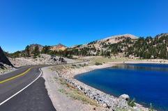 Parque nacional vulcânico de Lassen, Califórnia, EUA Foto de Stock Royalty Free