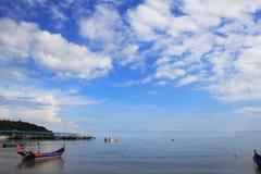 Parque nacional y barco de Penang Imágenes de archivo libres de regalías