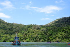 Parque nacional y barco de Penang Imagen de archivo