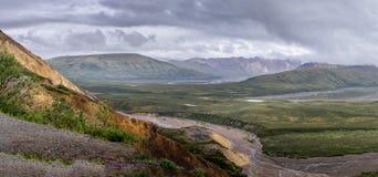 Parque nacional y coto de Denali fotos de archivo libres de regalías