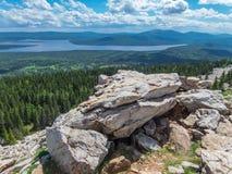 Parque nacional Zyuratkul imagen de archivo libre de regalías