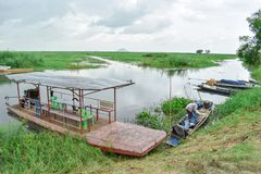 Parque Nakhon Sawan, Tailandia de Bueng Borpit imágenes de archivo libres de regalías