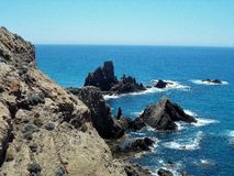 - Parque natural Cabo de Gata-Almería-Andalucía imagen de archivo libre de regalías