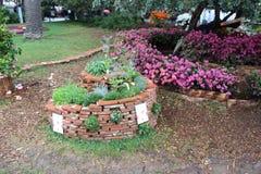 Parque natural da flor de Genebra Nervi fotografia de stock