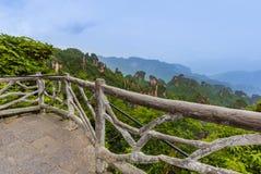 Parque natural das montanhas do Avatar de Tianzi - Wulingyuan China fotografia de stock royalty free