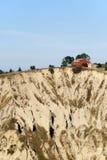 Parque natural de Atri (Abruzzi), paisagem no verão Fotos de Stock