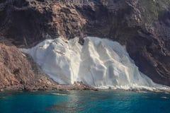 Parque natural de Cabo de Gata-NÃjar no canto do sudeste da Espanha Imagem de Stock
