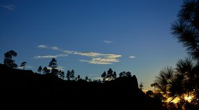Parque natural de Pilancones Fotografia de Stock