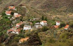 Parque Natural de Pilancones em Gran Canaria imagens de stock royalty free