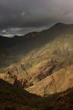 Parque Natural de Pilancones em Gran Canaria Imagem de Stock Royalty Free