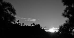 Parque natural de Pilancones, Gran canaria Imagens de Stock Royalty Free