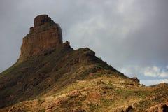 Parque Natural de Pilancones in Gran Canaria Stock Image