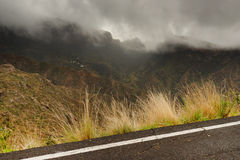 Parque Natural de Pilancones in Gran Canaria Royalty Free Stock Photo