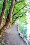 Parque natural de Plitvice, Croácia Imagens de Stock Royalty Free
