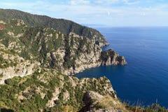 Parque natural de Portofino Fotografía de archivo