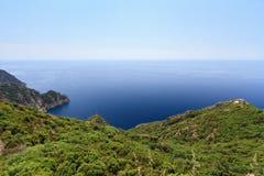 Parque natural de Portofino fotografía de archivo libre de regalías