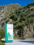 Parque natural de Sierra de Las Nieves, España Fotografía de archivo