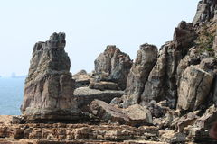 Parque natural de Taejongdae em busan Imagens de Stock