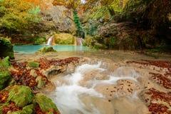 Parque natural de Urederra Imagen de archivo libre de regalías