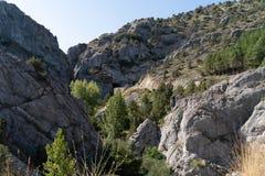 Parque natural del Yecla, imagenes de archivo
