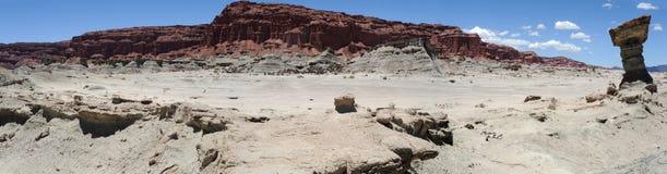 Parque natural do la Luna de Ischigualasto ou de Valle de Fotos de Stock Royalty Free