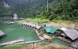 Parque natural do sok de Khao Imagem de Stock