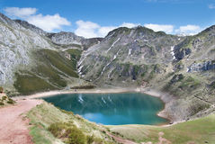 Parque Natural Somiedo_12, Asturias. One of the asturian natural parks with a lot of mountains and lakes Royalty Free Stock Images