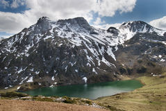 Parque Natural Somiedo, Asturias. One of the asturian natural parks with a lot of mountains and lakes Stock Images
