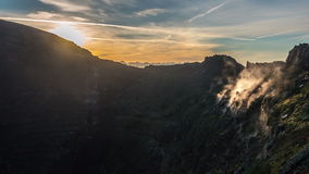 Parque natural Timelapse do Vesúvio vídeos de arquivo