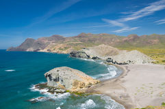 Parque Naturalny Cabo de Gata Zdjęcia Royalty Free