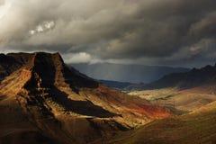Parque Naturlig de Pilancones Arkivfoto