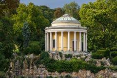Parque no centro histórico de Eisenstadt Fotos de Stock Royalty Free