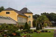Parque no centro histórico de Eisenstadt Imagens de Stock