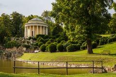 Parque no centro histórico de Eisenstadt Imagem de Stock