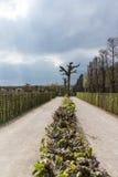 Parque no Eremitage, palácio velho em Bayreuth, Alemanha, 2015 Fotografia de Stock