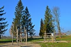 Parque no outono Fotografia de Stock
