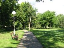 Parque no Vojvodina fotografia de stock