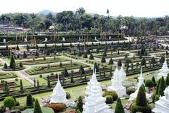 Parque Nong-Nooch Imagen de archivo
