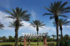 Parque Nova Orleães da cidade fotos de stock royalty free