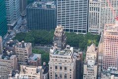 Parque NYC de Bryant Fotografía de archivo libre de regalías
