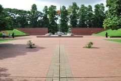 Parque o rescours Dacca madan Bangladesh de Ramna Fotos de archivo