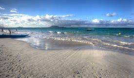 Parque Oahu Hawaii de la playa de Kailua que sorprende imagenes de archivo