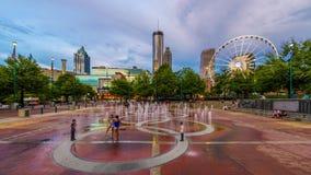 Parque olímpico centenário Atlanta Geórgia vídeos de arquivo