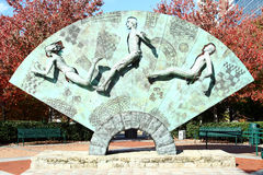 Parque olímpico centenario - Atlanta imagenes de archivo