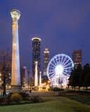 Parque olímpico centenario en Atlanta Imagenes de archivo