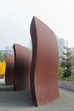 Parque olímpico da escultura em Seattle fotos de stock royalty free